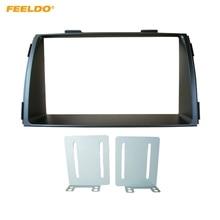 FEELDO 2Din автомобиля установке DVD Радио Фризовая Рамка для KIA Sorento 2012 + приборной панели Установка крепление рамы Панель отделка комплект