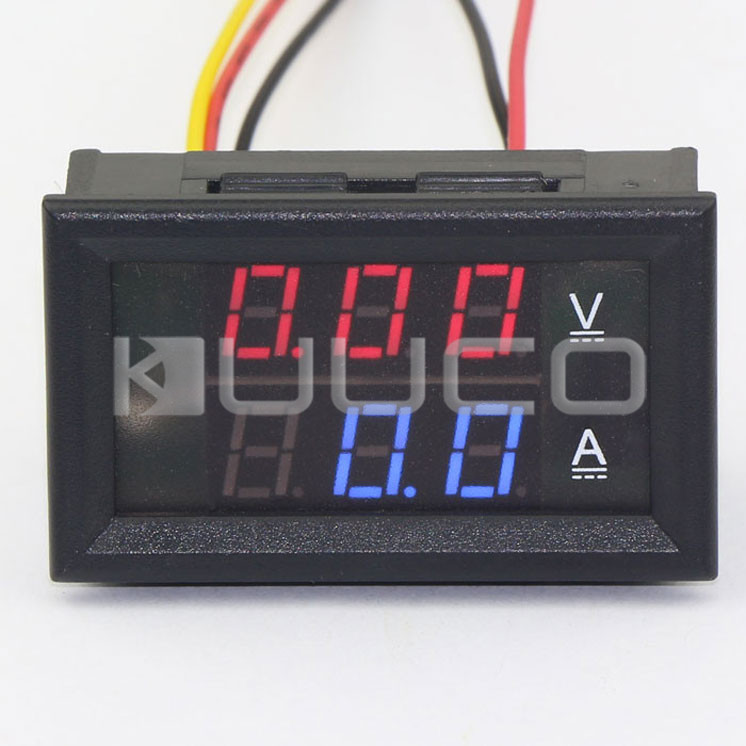 Frank 5 Pccs/lot Digital Voltage Current Meter Dc 0~100v/50a Ammeter Voltmeter Dual Display Panel Meter Dc 12v 24v Digital Tester Famous For High Quality Raw Materials Full Range Of Specifications And Sizes And Great Variety Of Designs And Colors