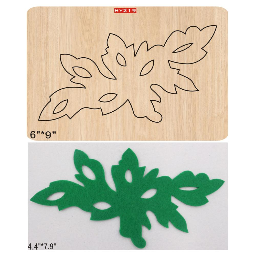 Leaf New Wooden Mould Cutting Dies For Scrapbooking Thickness-15.8mm