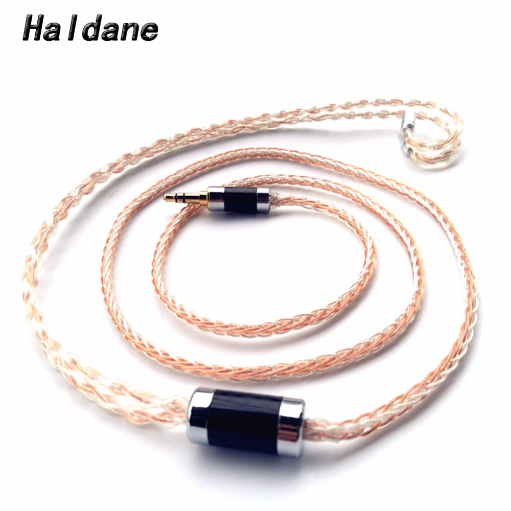 Free Shipping Haldane MMCX 0.78mm <font><b>2</b></font> <font><b>pin</b></font> IM04 IE80 A2DC MMCX HD650 ER4B S P UE0.75mm <font><b>Headphone</b></font> Earphone Headset <font><b>Cable</b></font> image