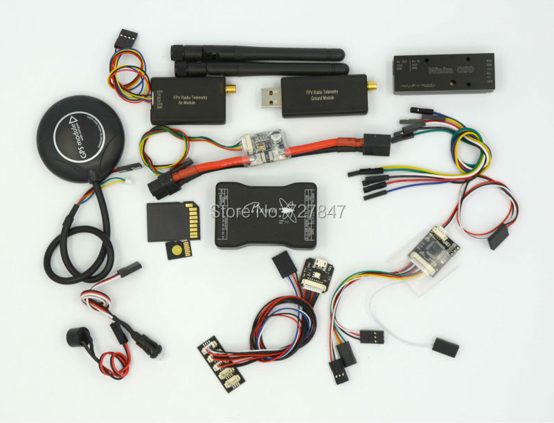 Mini Pixhawk Flight Control 32bit Pixhawk2.4.6 NEO M8N GPS Power Module Minin Osd 433 Telemetry gy neo6mv2 neo 6m gps module neo6mv2 with flight control eeprom mwc apm2 5 large antenna for arduino