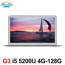Причастником 13.3 дюймов Intel i5 5200u Ultrabook Ноутбук с 1920*1080 Экран HD USB 3.0 HD 5500 Графика