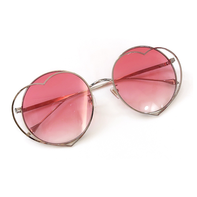 Round Sunglasses Fashion Women 2019 Alloy Frame Retro Mirror Sun Glasses Lady Female Vintage Brand Designer UV400