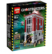4695Pcs 2016 New LEPIN 16001 Ghostbusters Firehouse Headquarters Model Building Kits Model set Minifigure Compatible With 75827