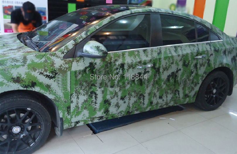 152cm x 30cm car styling large digital woodland green camo camouflage vinyl film sticker wrap decal steet free shipping on aliexpress com alibaba group