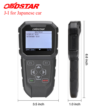 Original OBDSTAR J-I key programming and mileage adjustment TOOL Special design for Japanese Vehicles OBDPROG MT401 obdstar x300 pad2 x300 dp plus c package full version 8inch tablet support ecu programming and toyota smart key