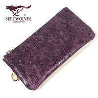 New Women's Coin Purse Cowhide Mini Wrist Bag Coin Purse