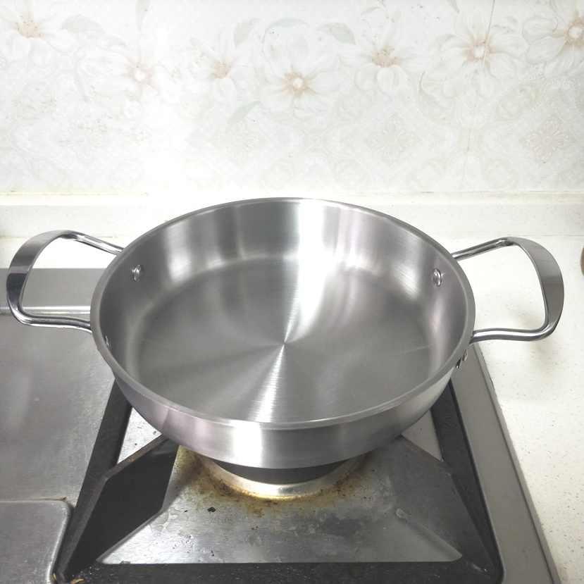 22 ซม. 2 - handle กระทะ, multi - purpose กระทะ, แม่เหล็กหนา pan เหล็กเตาแม่เหล็กไฟฟ้า