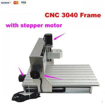 Kit cnc router marco de aluminio 3040 con motor paso a paso interruptor de límite