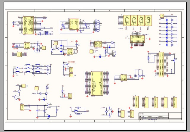 EP1C3T144 chip development board schematics and PCB design PCB FPGA ...