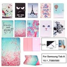 Fashion Cartoon Case For Samsung Galaxy Tab A a6 10.1 2016 T