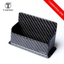 T-carbon fiber Бизнес-держатель для карт