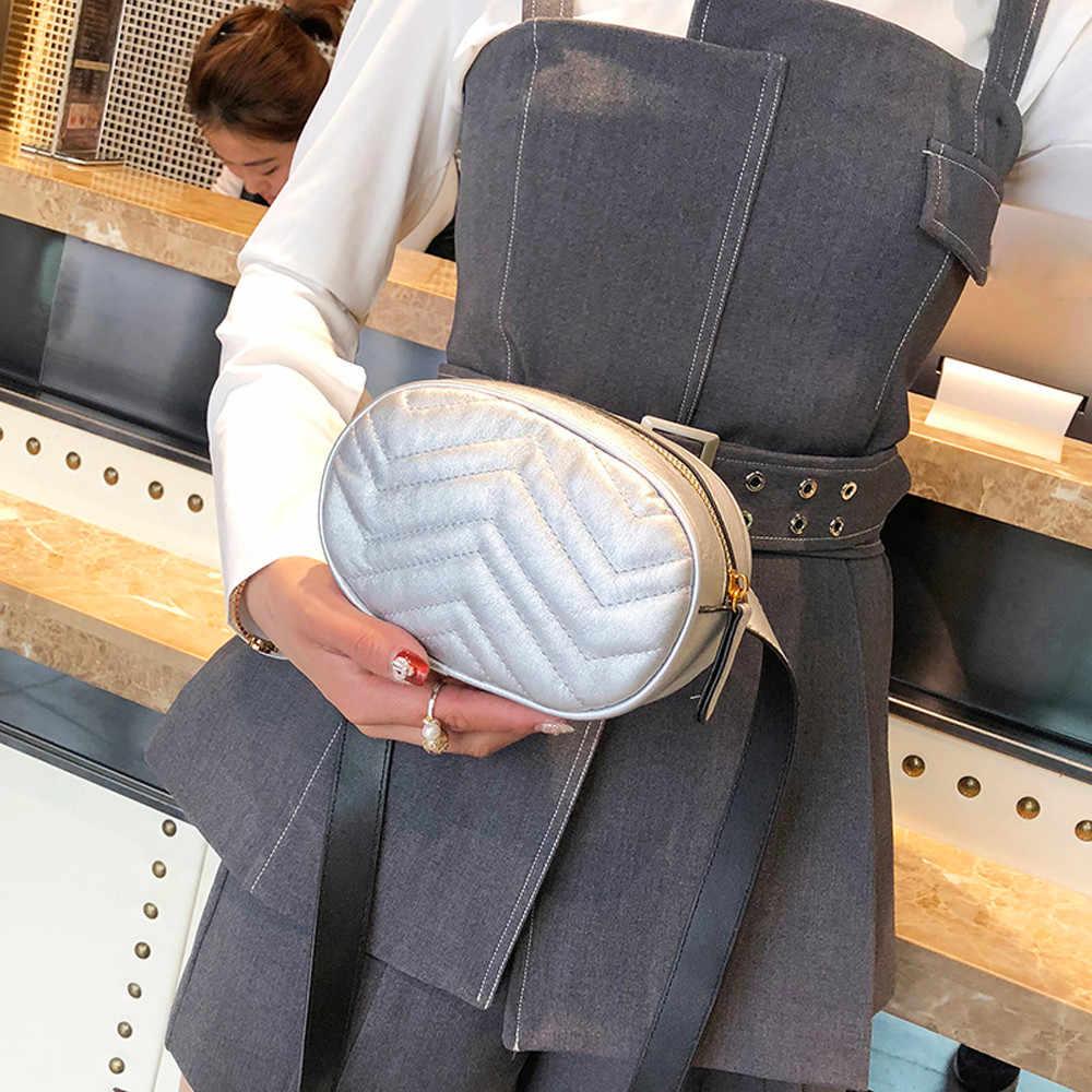 Kobiety talia torba pakiety pas skórzany klatki piersiowej torba damska projekt luksusowe klatki piersiowej talii torby telefon Evening Party clutch torby Hip packs6 #23