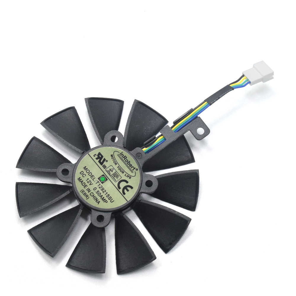 87mm T129215SU DC 12V 0 50A 6Pin Cooler Fan Replace For ASUS