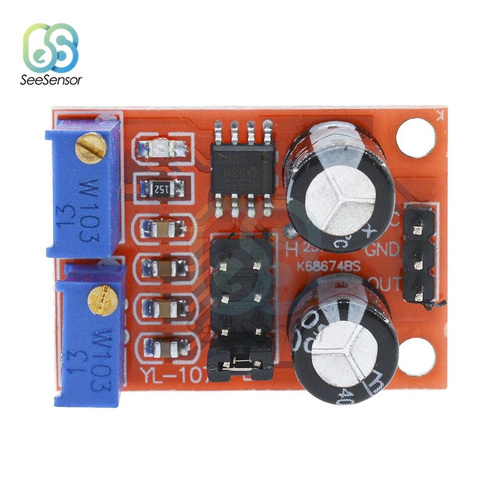 NE555 импульсный Частотный Настраиваемый модуль, генератор прямоугольных волновых сигналов постоянного тока 5 в 15 в|Генераторы сигнала|   | АлиЭкспресс