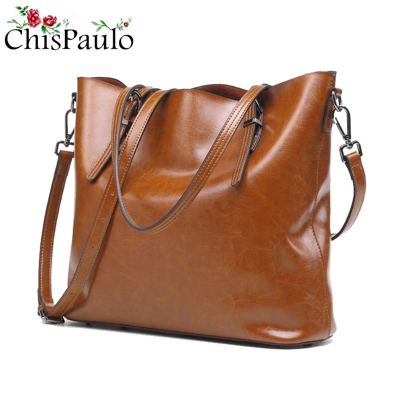 CHISPAULO Woman Bag 2017 Luxury Famous Brands Designer Handbags High Quality Cowhide Fashion Women Genuine Leather Handbags T351 paste lady real leather handbags patent famous brands designer handbags high quality tote bag woman handbags fringe hot t489