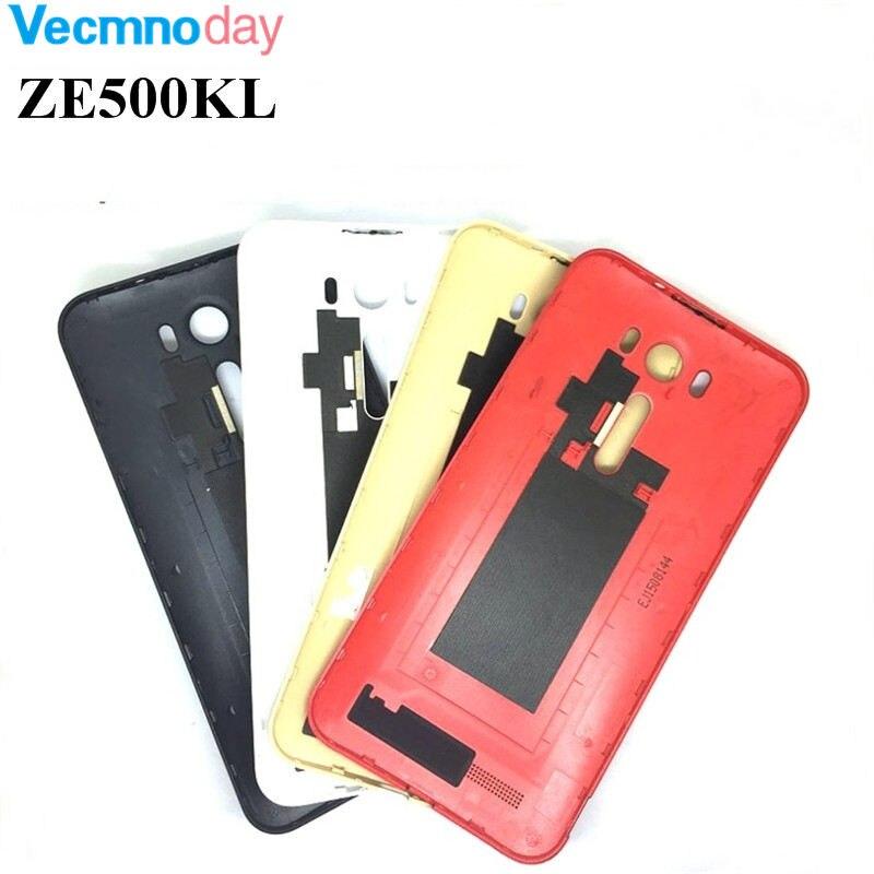 Vecmnoday оригинальный <font><b>ZE500KL</b></font> Батарея Задняя накладка для Asus Zenfone 2 Laser <font><b>ZE500KL</b></font> Батарея дверь задняя Корпус с логотипом