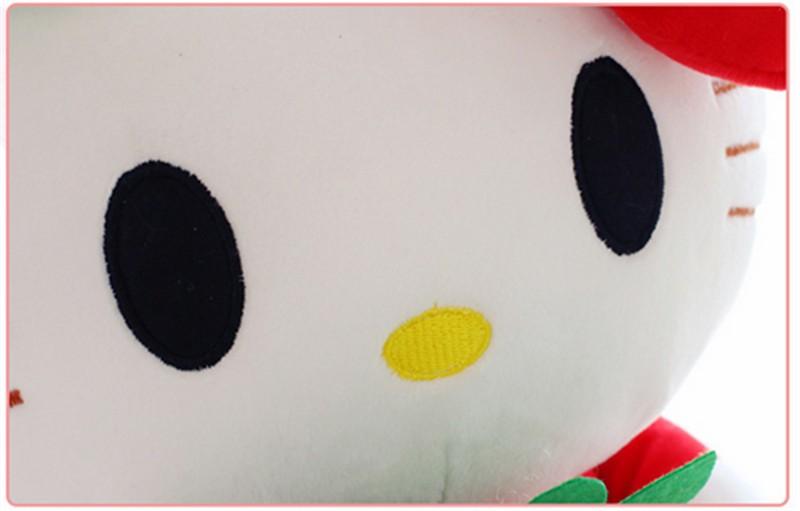 fancytrader cartoon lovely stuffed plush large giant hello kitty kt cat plush doll toys 65cm Christmas birthday gift  10