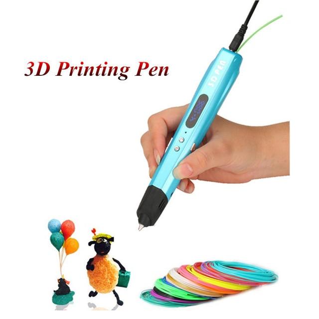Kinder lieblings neue 3D zeichnung stift mit freiem PLA draht 3d ...
