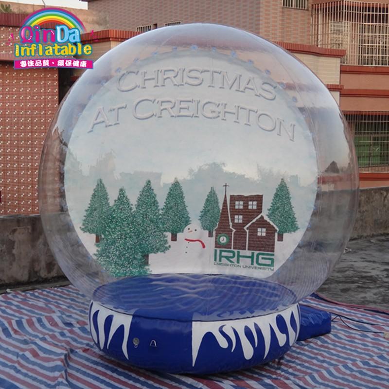 inflatable snow globe31
