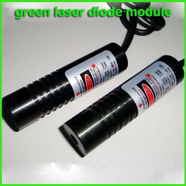 5mw 532nm Dot green laser diode module 10x60mm DC3-4V