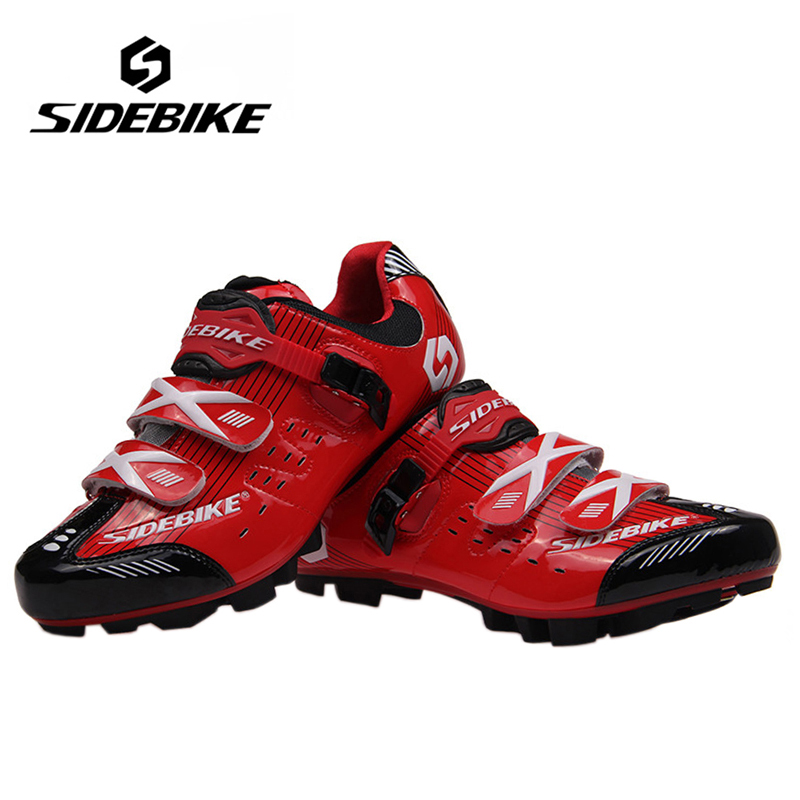 SIDEBIKE Professional Bicycle MTB Cycling Shoes Men Women Breathable Mountain Bike Racing Shoes Athletic Self-Locking Shoes