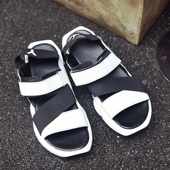 Men Sandals Leather Sandals Men Summer High Quality Brand Shoes Beach Men Causal Shoes Fashion Outdoor Sandals Slippers New 2018 Sandals