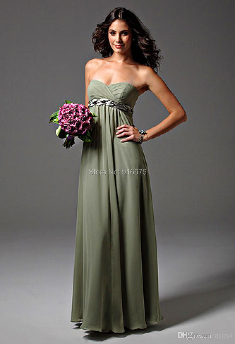 New bridesmaid dresses strapless sage green chiffon maternity 791 hot new bridesmaid dress strapless sage green 1 ombrellifo Gallery