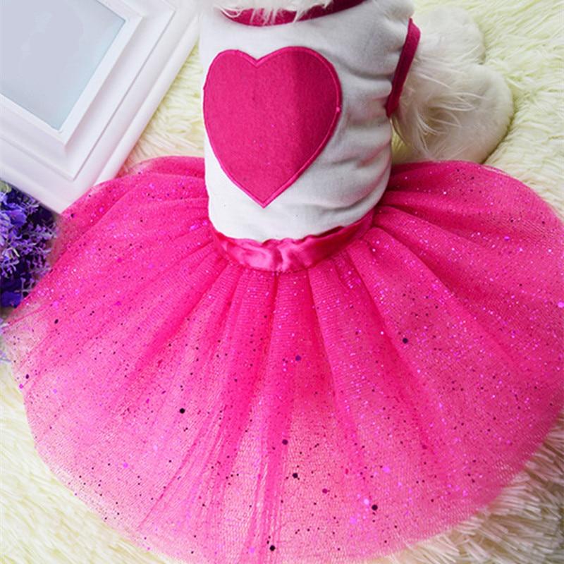ჱVerano perro ropa para perros pequeños princesa perro vestidos ...