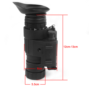 Image 4 - Tactical dispositivo de visão noturna infravermelha iluminação ir embutido caça riflescope monocular para fotografar, PVS 14 day night viewer