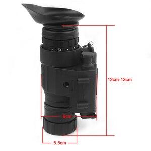 Image 4 - Taktische Infrarot Nachtsicht Gerät Eingebauten IR Beleuchtung Jagd Zielfernrohr Monokulare für Schießen, PVS 14 Tag Nacht Viewer