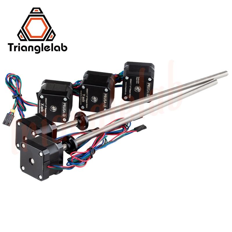 Trianglelab комплект всех моторов все моторы Nema17 leadвинт шаговые двигатели для 3D печати prusa i3 MK3 MK3s bear - 4