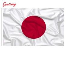 Bandeira de bandeira padrão japonesa, 90x60cm, pendurada no japão, poliéster, bandeira exterior, bandeira interior, n013