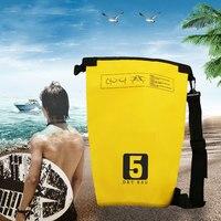 Drifting Bag Waterproof Dry Bag Backpack Canoe Kayak Rafting Floating Storage Bags Folding Travel Kits