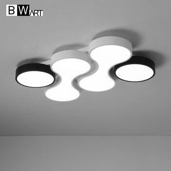 Candelabro de techo LED moderno con bisagras, lámpara remota, nuevo candelabro de montaje en casa, iluminación para comedor, dormitorio
