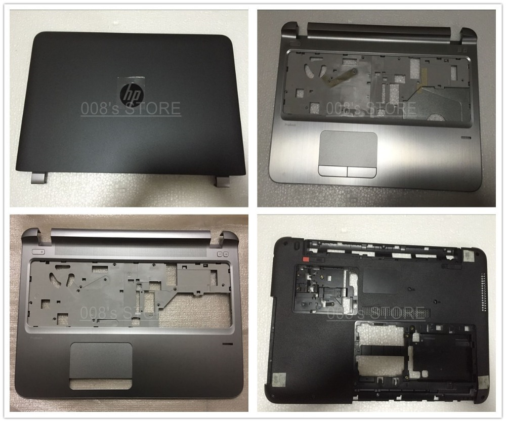 ФОТО New Laptop LCD Back/Palmrest/Bottom Case Cover For HP ProBook 450 G3 EAX63003A 828402-001/49X63TA 828410-001/EAX6300101A