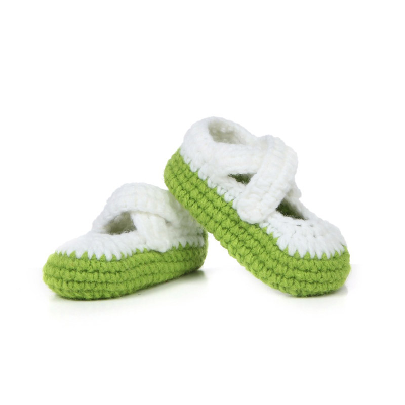 Multicolor-Handmade-Baby-Shoes-Crochet-Baby-Booties-Knitting-Socks-for-Newborn-10-cm-5