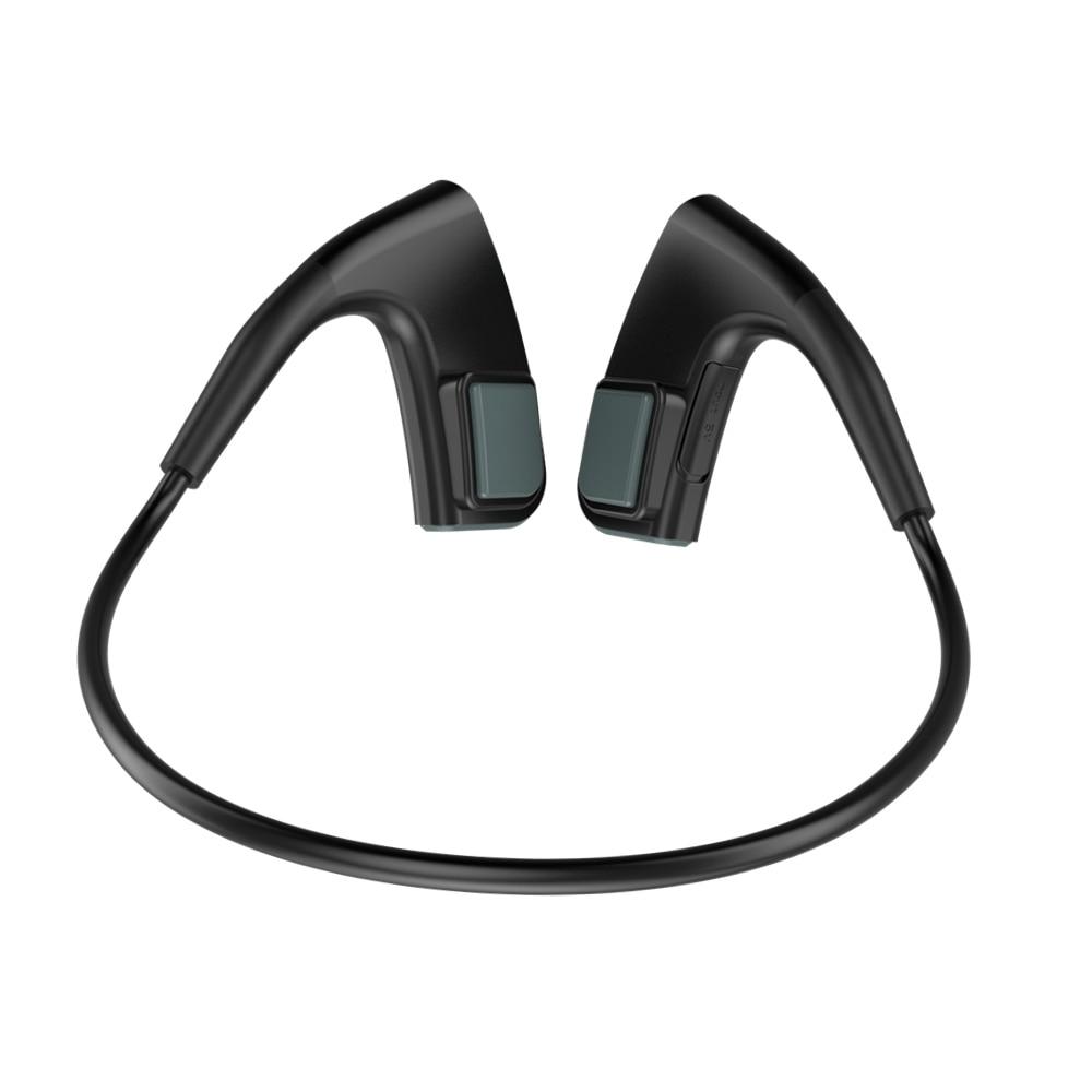 Bone Conduction Headset Wireless Bluetooth Outdoor Sports bass Headphone good durable sports Neckband earphones running