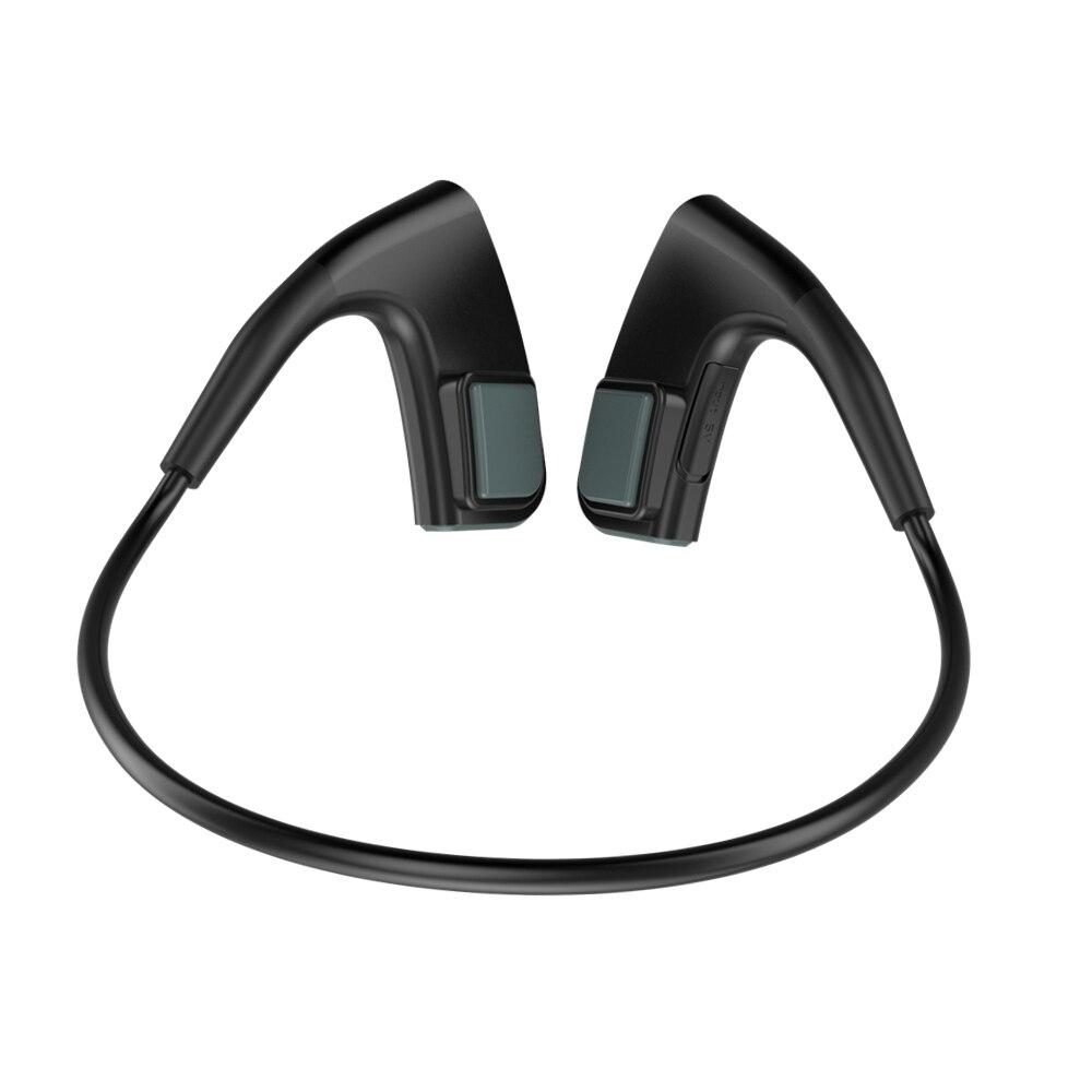 Casque de Conduction osseuse sans fil Bluetooth Sports de plein air casque de basse bon sport durable écouteurs de tour de cou en cours d'exécution