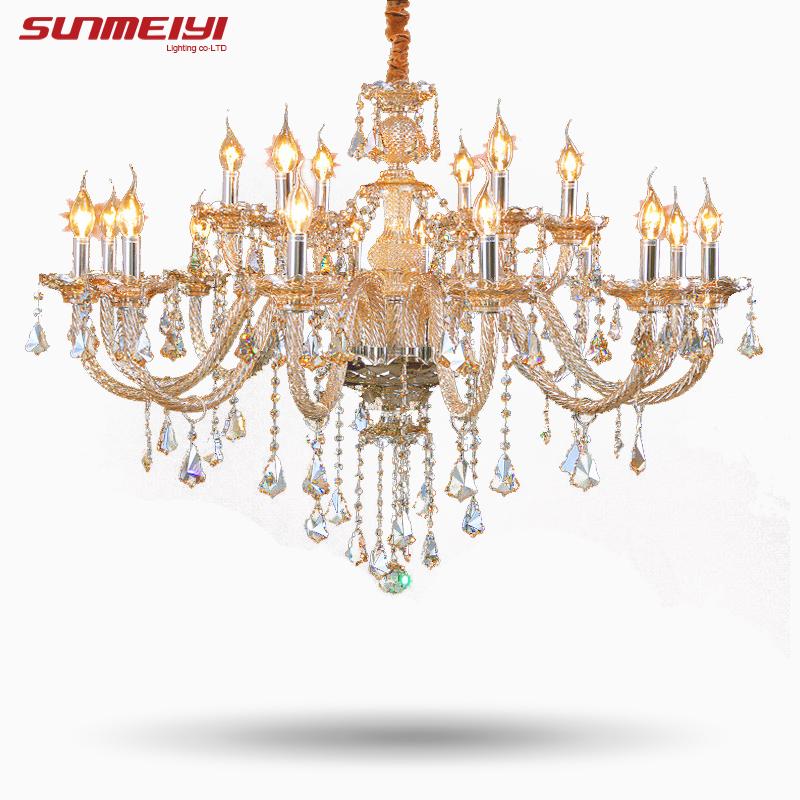 Tiffany Kronleuchter Und Anhnger Wohnzimmer Lampen Beleuchtung Moderne Kristall Innen Lampe Hotel Halle Leuchtet