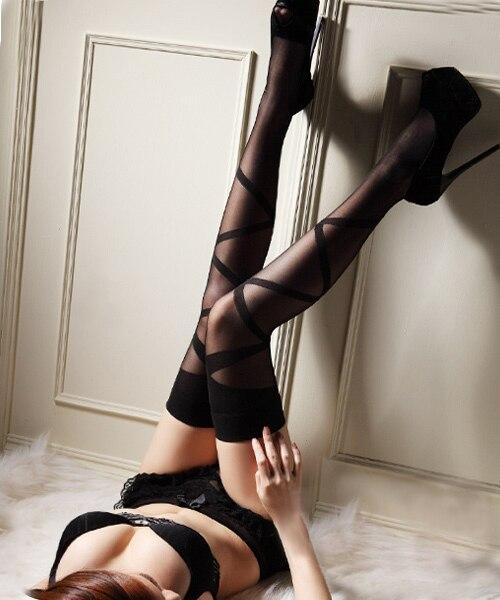 In socks girls sexy knee