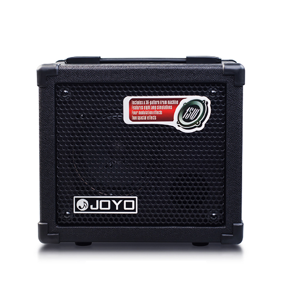 joyo dc 15 acoustic electric bass guitar amplifier multi effects stereo speaker digital volume. Black Bedroom Furniture Sets. Home Design Ideas