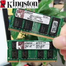 Kingston notebook 2 gb 2g pc2 5300s 6400s 5300 6400 667mhz, 800mhz laptop ecc notebook 2 gb ram de memória