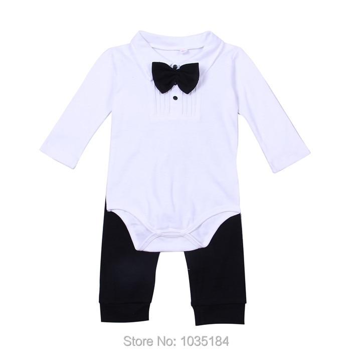 Bow Tie Baby Boy Body Suit