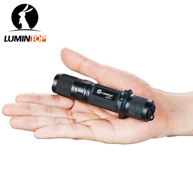 LUMINTOP тактический фонарь ED20-T Cree XM-L2 U2 Max Выход 750 люмен 5 режимов Поддержка однократно-на и мерцающий одним кликом