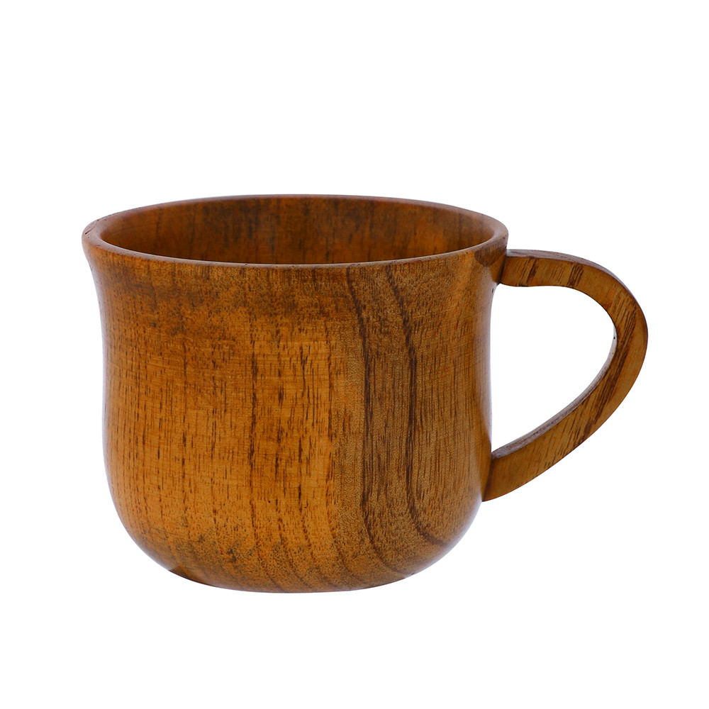 2019 New Wooden Cup Log Color Handmade Natural Wood Coffee Tea Beer Juice Milk Mug Creative retro new cup party home#