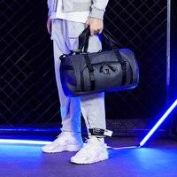 Арктический Охотник 2019 Новая мужская дорожная сумка большая емкость багажная сумка дорожная сумка короткая дистанция бизнес досуг легкая
