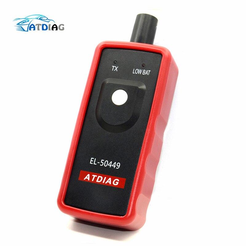 Mais novo sistema de monitor pressão dos pneus do carro automático EL-50449 para ford tpms el 50449 ferramenta diagnóstico carro pneu alarme sensor