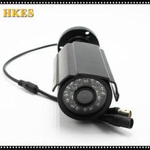 HKES 1200TVL HD Color Outdoor CCTV Surveillance Security Camera 24IR Day Night Video Metal CAM