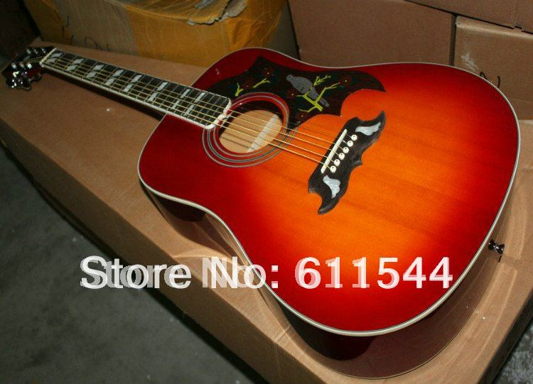 cherry burst acoustic guitar dove guitars high quality best selling wholesale from china in. Black Bedroom Furniture Sets. Home Design Ideas